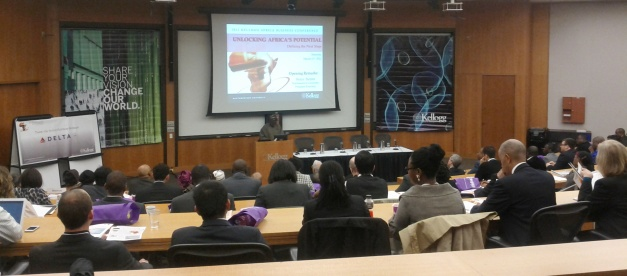 Africa Business Conference in progress