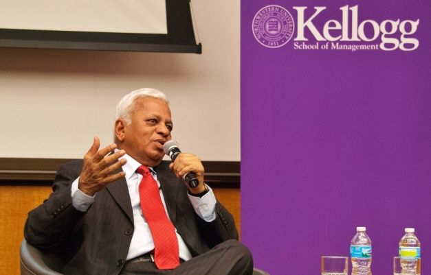 Tata Steel Vice Chairman Mr. B. Muthuraman Speaks to Kellogg Students
