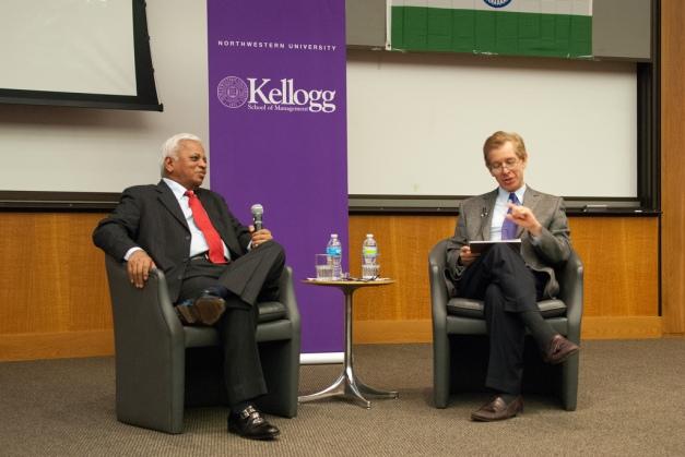 Tata Steel Vice Chairman Speaks with Professor David Besanko