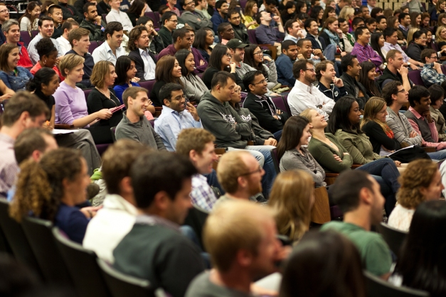 Irene Rosenfeld Spoke to More Than 500 Students, Faculty and Administrators