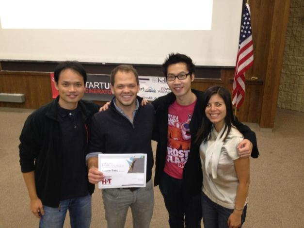 Winning First Place at Startup Incenerator