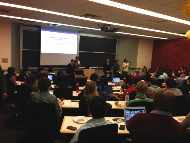 Students and faculty debate  immigration reform.