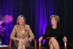 Maggie Wilderotter and Denise Morrison