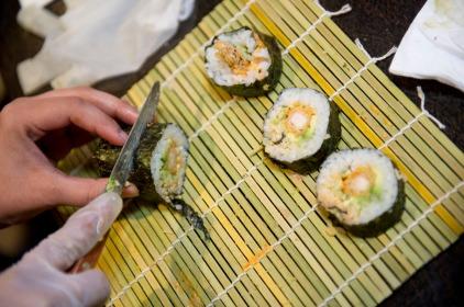 Sushi Rolling Class at Todoroki