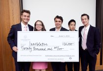 Innoblative Designs won $20,000 for their first place win in the Life Sciences and Medical Innovation track, as well as $8,000 for winning second place overall.