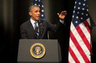 President Obama podium1