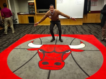 Nick Robinson - Bulls Locker Room